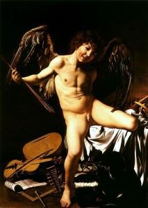512px-Caravaggio_-_Amor_vincit_omnia